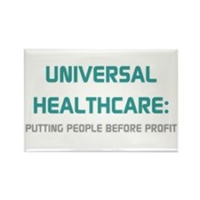 Universal Healthcare Rectangle Magnet (100 pack)