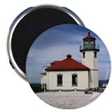 Alki Point Lighthouse Magnet