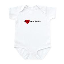 I Love Davie, FL Infant Bodysuit