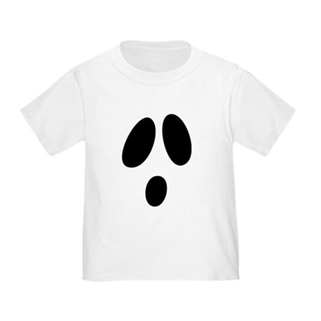 Ghost Face Toddler T-Shirt