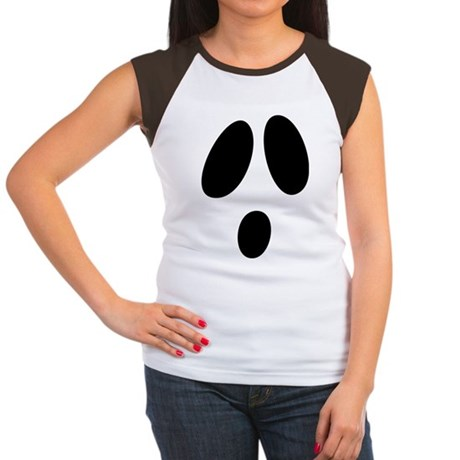 Ghost Face Women's Cap Sleeve T-Shirt
