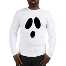 Ghost Face Long Sleeve T-Shirt