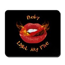 Hot Lips Mousepad