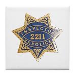 Inspector San Francisco Police Tile Coaster