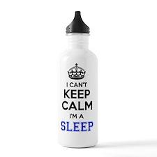Cute Keep calm sleep Water Bottle