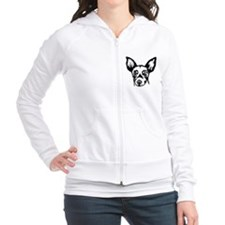 Miniature Rat Terrier Fitted Hoodie