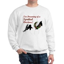 I'm Dreaming of a SPOTTED Xmas Sweatshirt