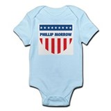 PHILLIP MORROW 08 (emblem) Infant Bodysuit