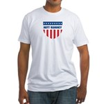 MITT ROMNEY 08 (emblem) Fitted T-Shirt