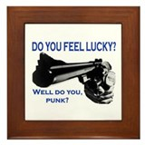DO YOU FEEL LUCKY? Framed Tile