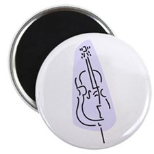 Bass Fiddle Magnet (Blue)