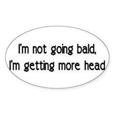 head Oval Decal