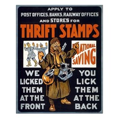 THRIFT STAMPS poster 16x20