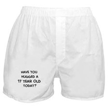 Hugged a 17 Year Old Boxer Shorts