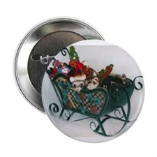 Oxford Ferret Rescue christmas Button