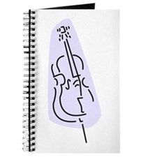 Bass Fiddle Journal (Blue)