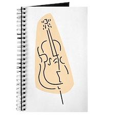 Bass Fiddle Journal (Peach)