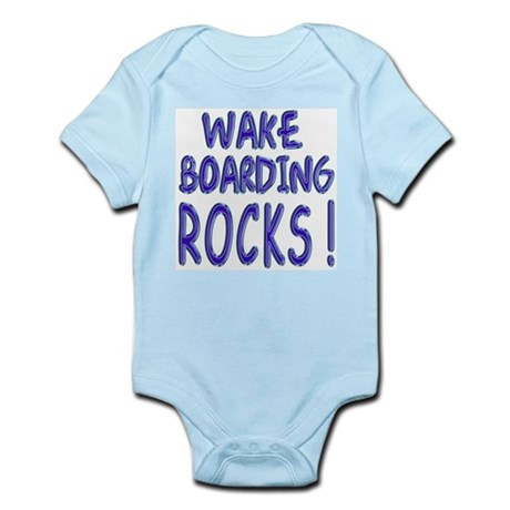 Wake Boarding Rocks ! Infant Bodysuit