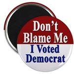 I Voted Democrat Magnet (10 pack)