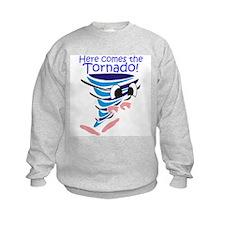 Here Comes the Tornado Sweatshirt