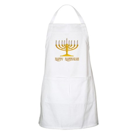 Happy Hanukkah BBQ Apron