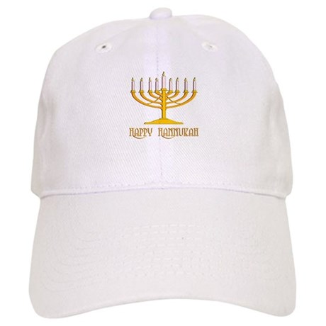 Happy Hanukkah Cap