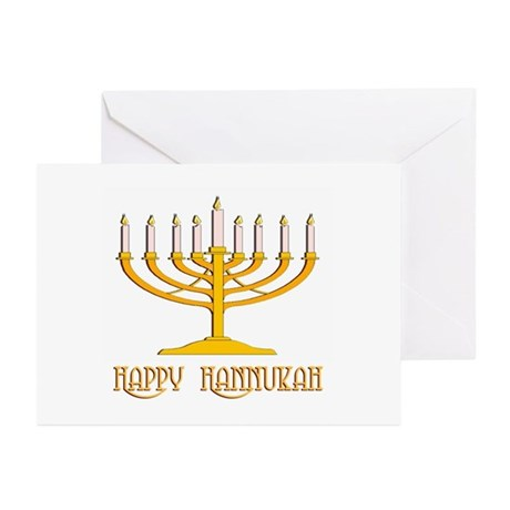 Happy Hanukkah Greeting Cards (Pk of 10)