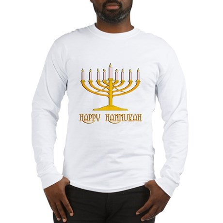 Happy Hanukkah Long Sleeve T-Shirt
