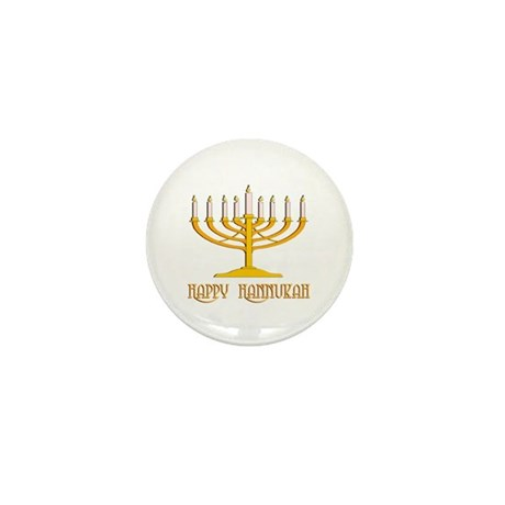 Happy Hanukkah Mini Button (100 pack)