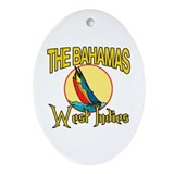 The Bahamas Oval Ornament