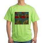 Dramatic Look Green T-Shirt