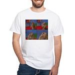 Dramatic Look White T-Shirt