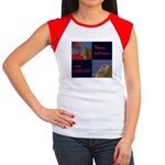 Dramatic Look Women's Cap Sleeve T-Shirt
