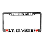 Funny Nurse License Plate Frame