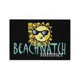TEE Beachwatch Summer Rectangle Magnet