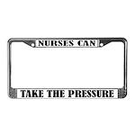 Funny Nursing License Plate Frame