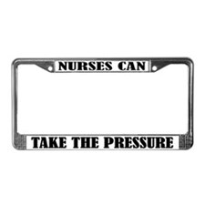 Funny Nursing License Plate Frame