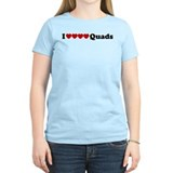 I heart Quads T-Shirt