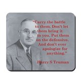 Harry S Truman Mousepad