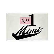 Number One Mimi Rectangle Magnet