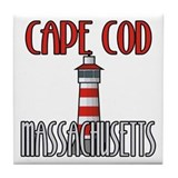 Cape Cod MA Tile Coaster