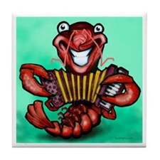 Cute Crawfish boil Tile Coaster