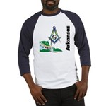 Arkansas Freemasons Baseball Jersey
