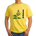Arkansas Freemasons Yellow T-Shirt