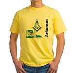 Arkansas Freemasons Yellow T-Shirt