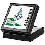 Arkansas Freemasons Keepsake Box
