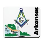 Arkansas Freemasons Mousepad
