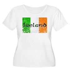 Ireland Flag Distressed Look T-Shirt