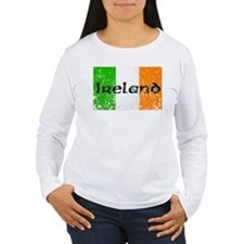 Ireland Flag Distressed Look T-Shirt