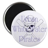 Urban WhiteWater Pirates 10 Magnet Pack